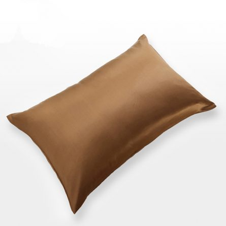 King Silk Pillowcase - coffee