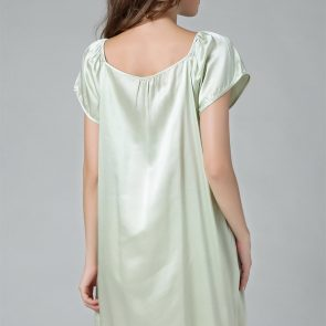 The silk nightdress